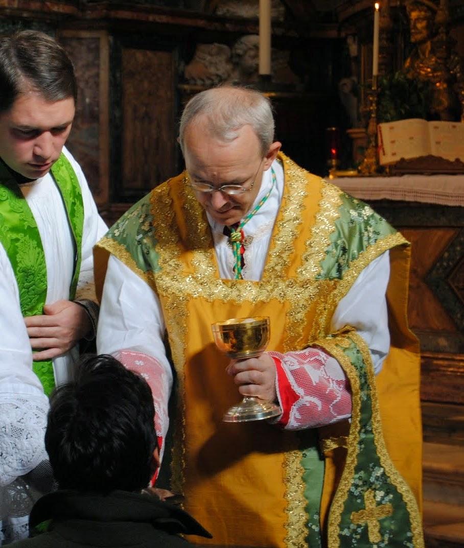 Sveta Evharistija in prenova Cerkve, 4. del