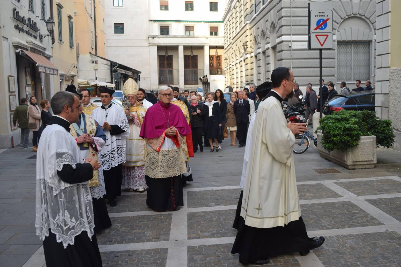 Slovesna pontifikalna sveta maša v Trstu, 3. oktober 2015