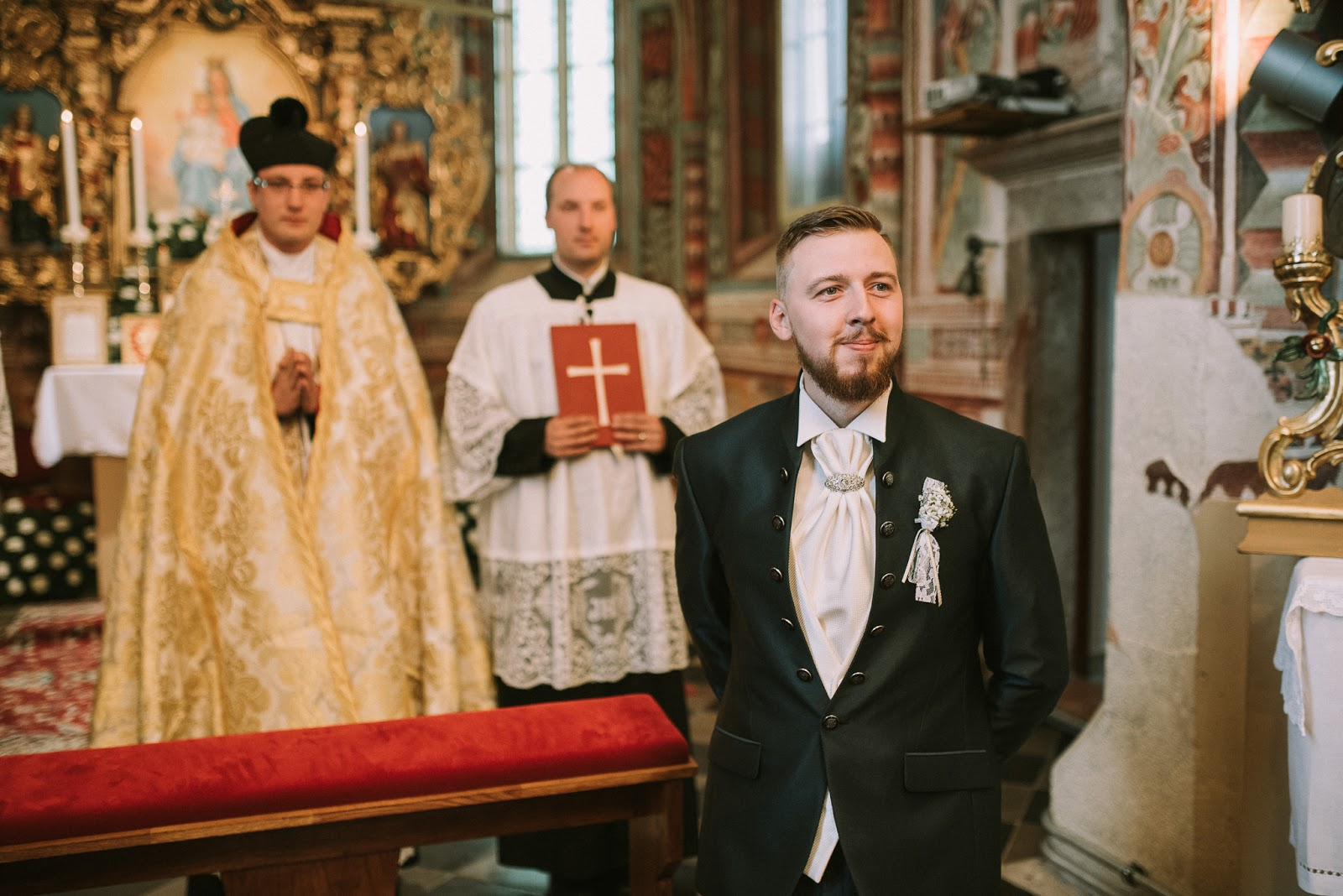 Poroka s tradicionalno latinsko sveto mašo, Suha pri Škofji Loki, 21. 5. 2016