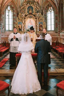 Sveta maša za ženina in nevesto – blagoslovi