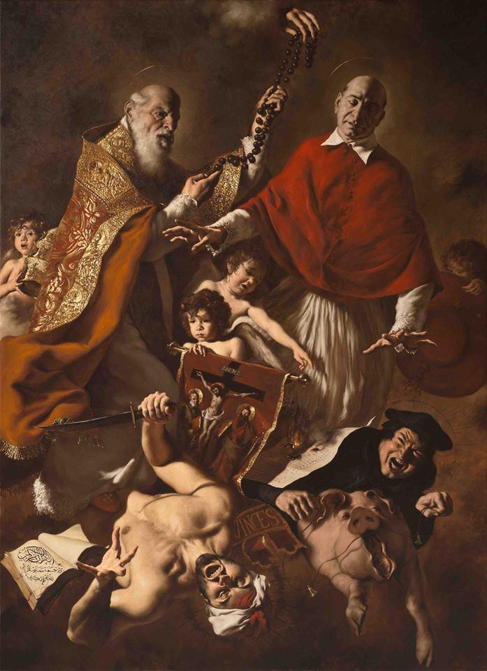 Sv. Pij V. in sveti Karel Boromejski – prosita za nas!