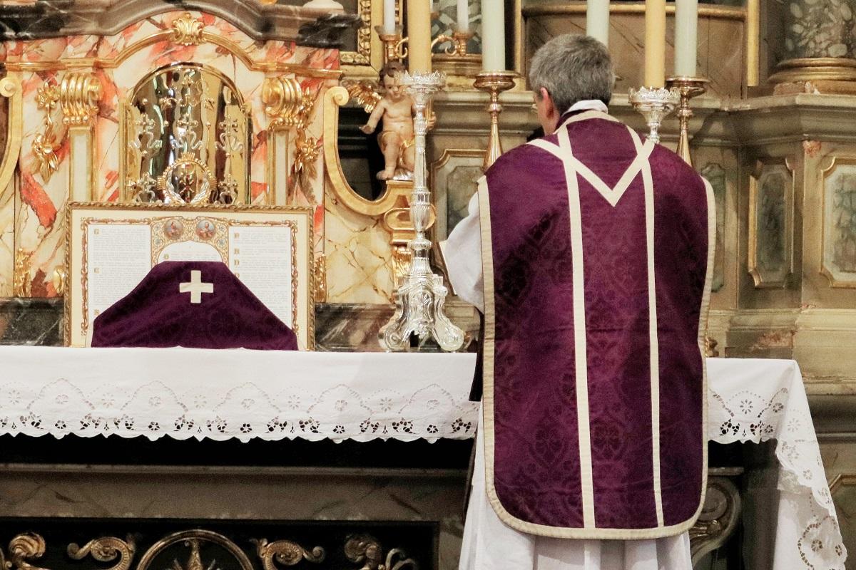 Obisk predstojnika Duhovniške bratovščine svetega Petra