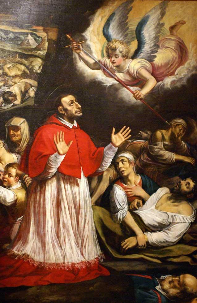 Kako se je sveti Karel Boromejski spopadel z epidemijo v svojem času