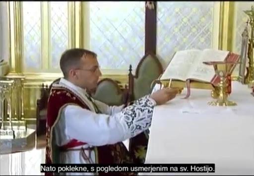 Darilo duhovnikom: Vodič za učenje maševanja tradicionalne latinske svete maše