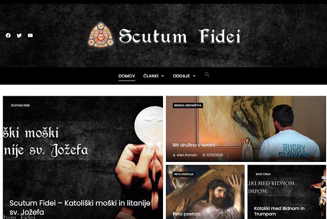 Spletni portal Scutum Fidei