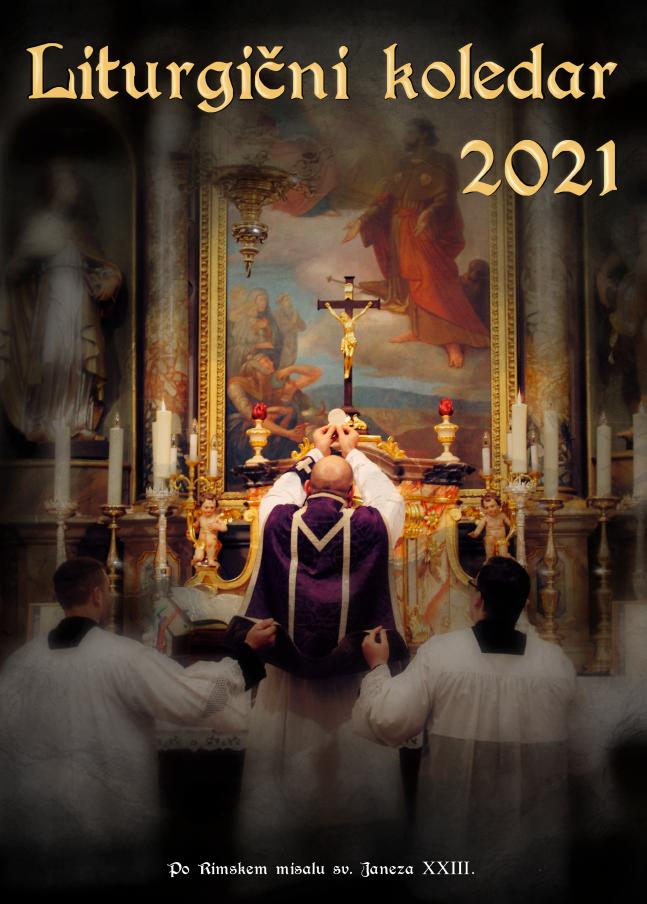 Liturgični koledarji 2021 – dostava